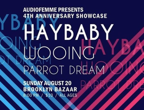 PREVIEW: Audiofemme Anniversary Bash w/ Haybaby, Wooing, & Parrot Dream
