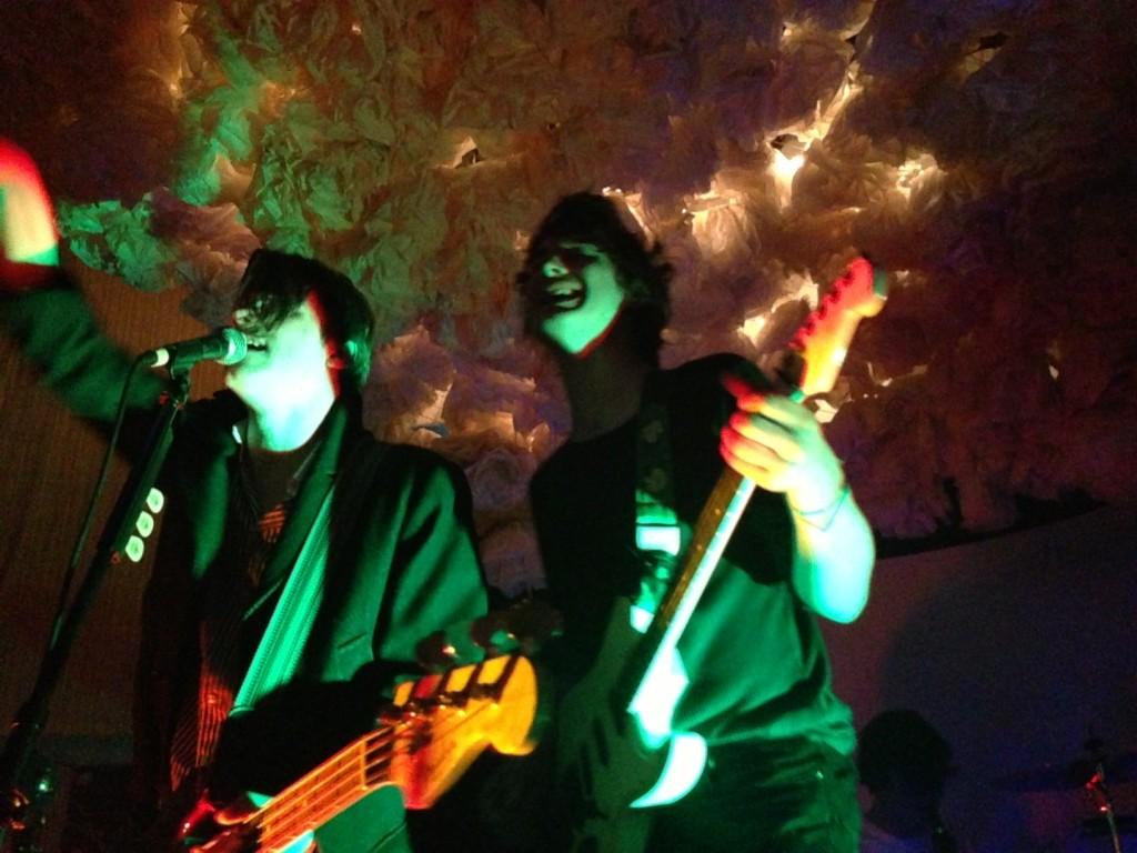 Chilli Jesson & Sam Fryer: happy, shiny punks