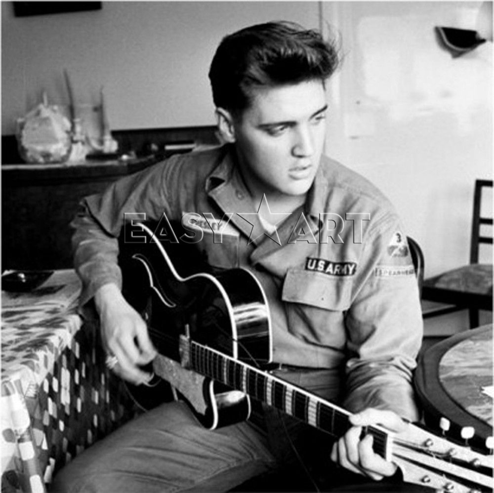 FLASHBACK FRIDAY: Elvis Joins The Army