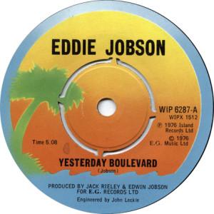 Eddie Jobson Yesterday Boulevard