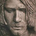 Kurt Cobain Weeping Statue