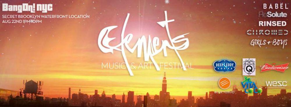 FESTIVAL PREVIEW: Elements Music & Art Festival 8/22