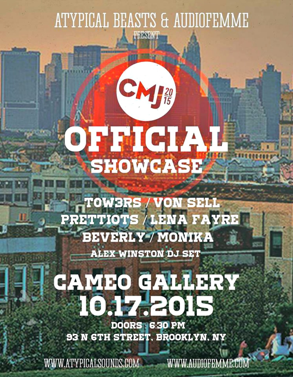 CMJ 2015: Top 10 Parties Not To Miss