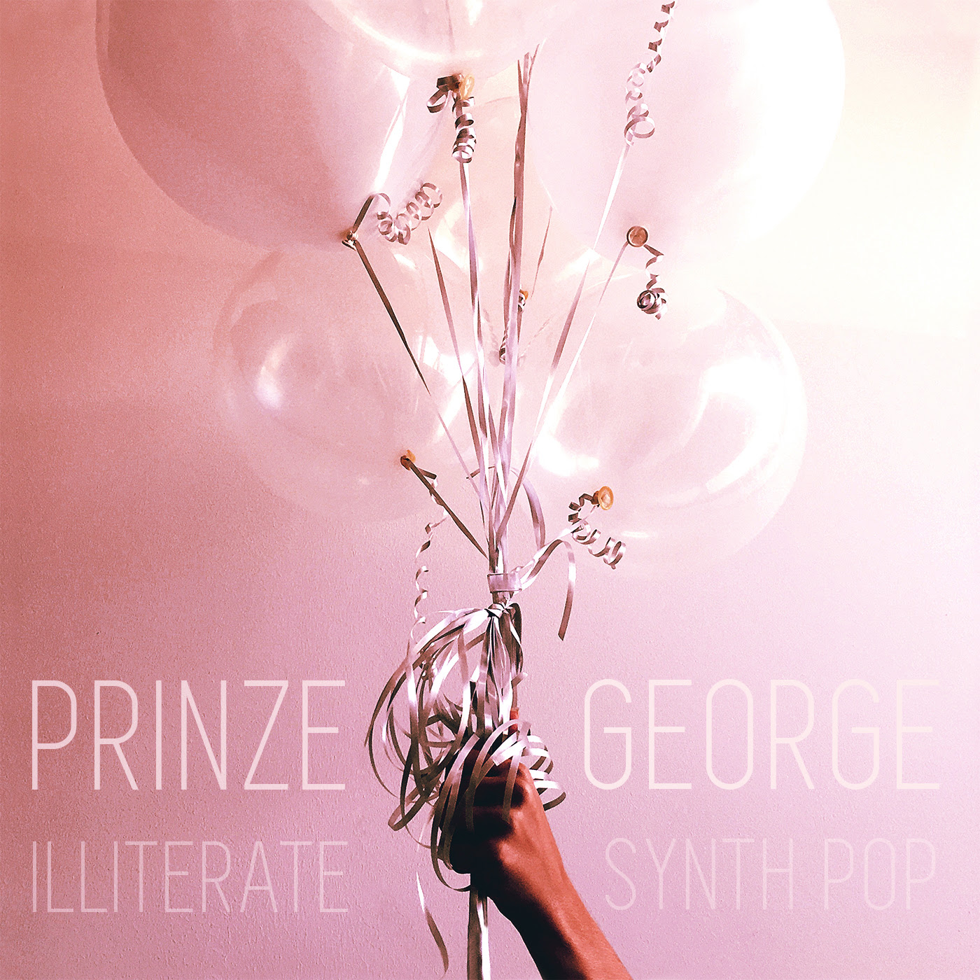"ALBUM REVIEW + ARTIST INTERVIEW: Prinze George ""Illiterate Synth Pop"""