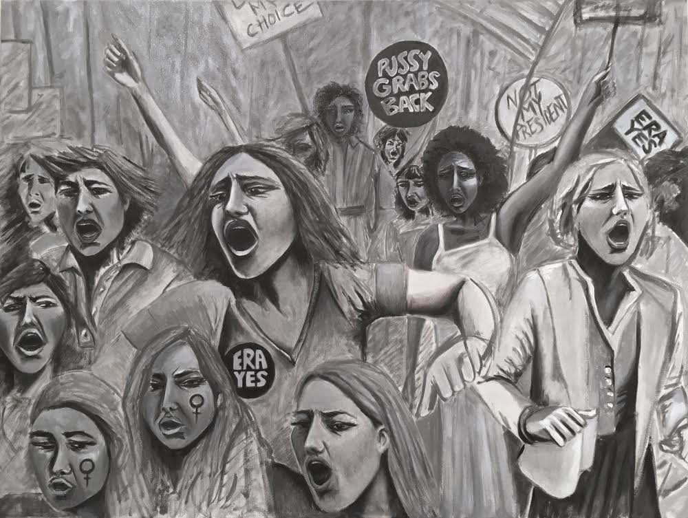 """PRotest"" by Indira Cesarine"