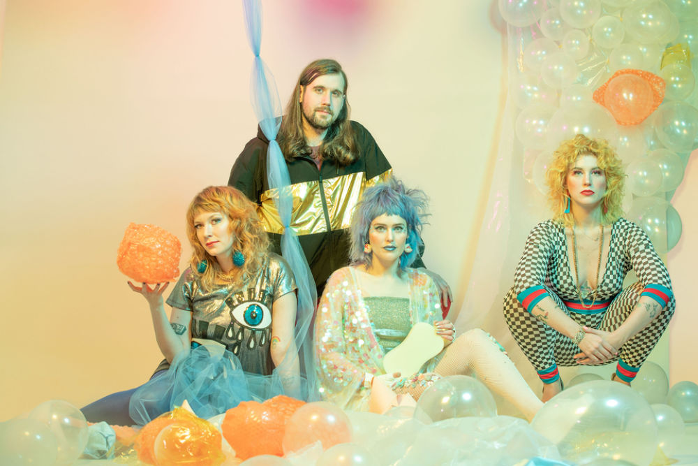"PLAYING SEATTLE: Tacocat Celebrate Friendship and Sub Pop Signing with ""Grains of Salt"""