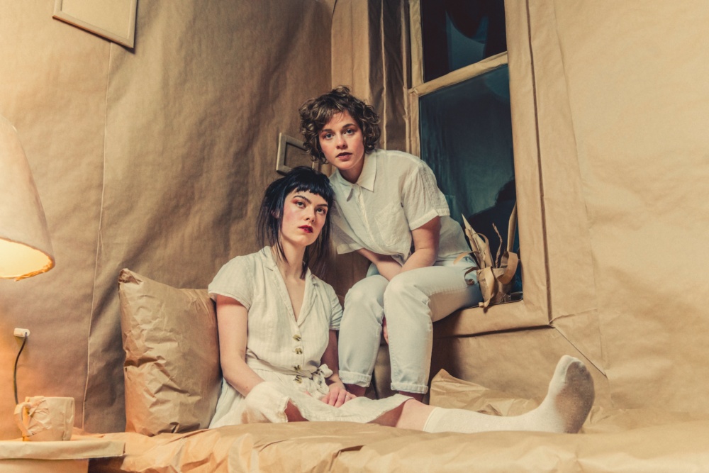 """INTERVIEW: Montreal Duo The Leanover Discuss New Album, """"Portico"""""""