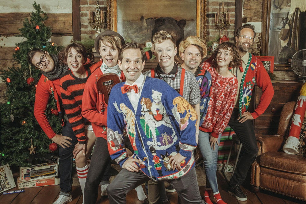 """SHEL and Jars of Clay Collaborate for """"A Family Christmas"""" EP"""