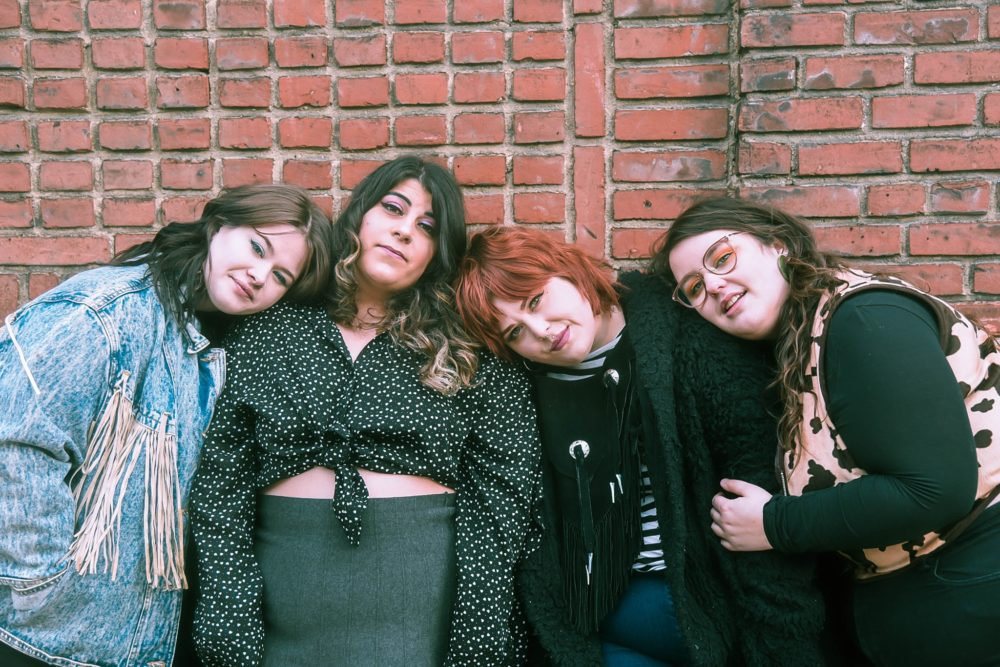 Chub Rub Is Fat, Proud, & Powerful on their Debut EP