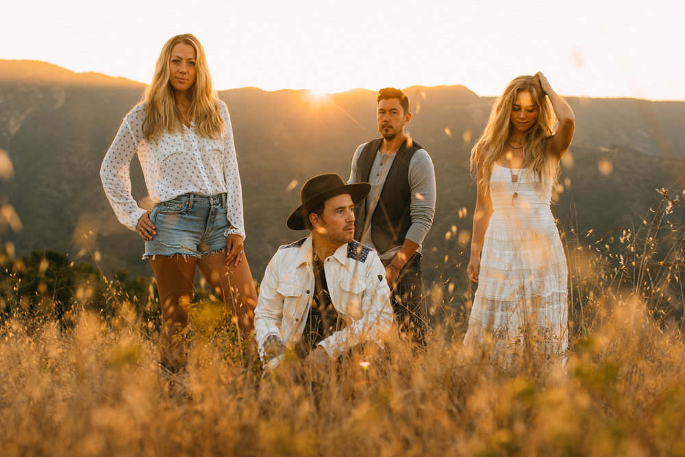 Colbie Caillat Goes Country with Gone West, on Their Expansive Debut 'Canyons'