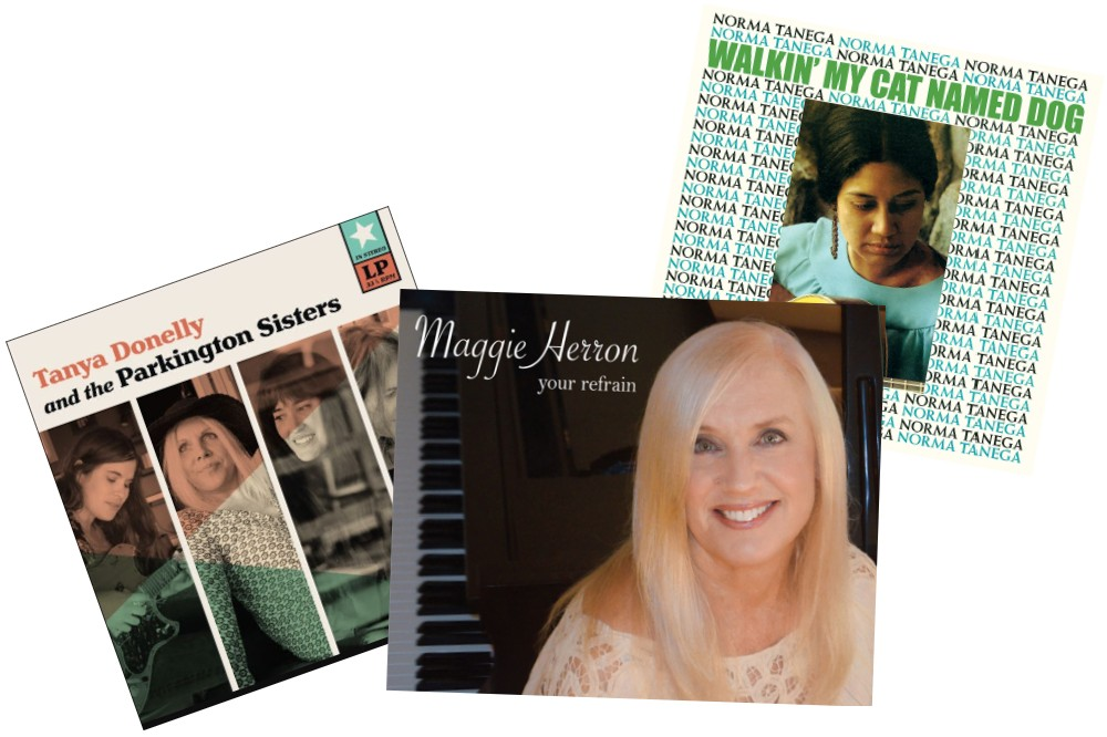 Musique Boutique: Maggie Herron, Tanya Donelly & the Parkington Sisters, and Norma Tanega